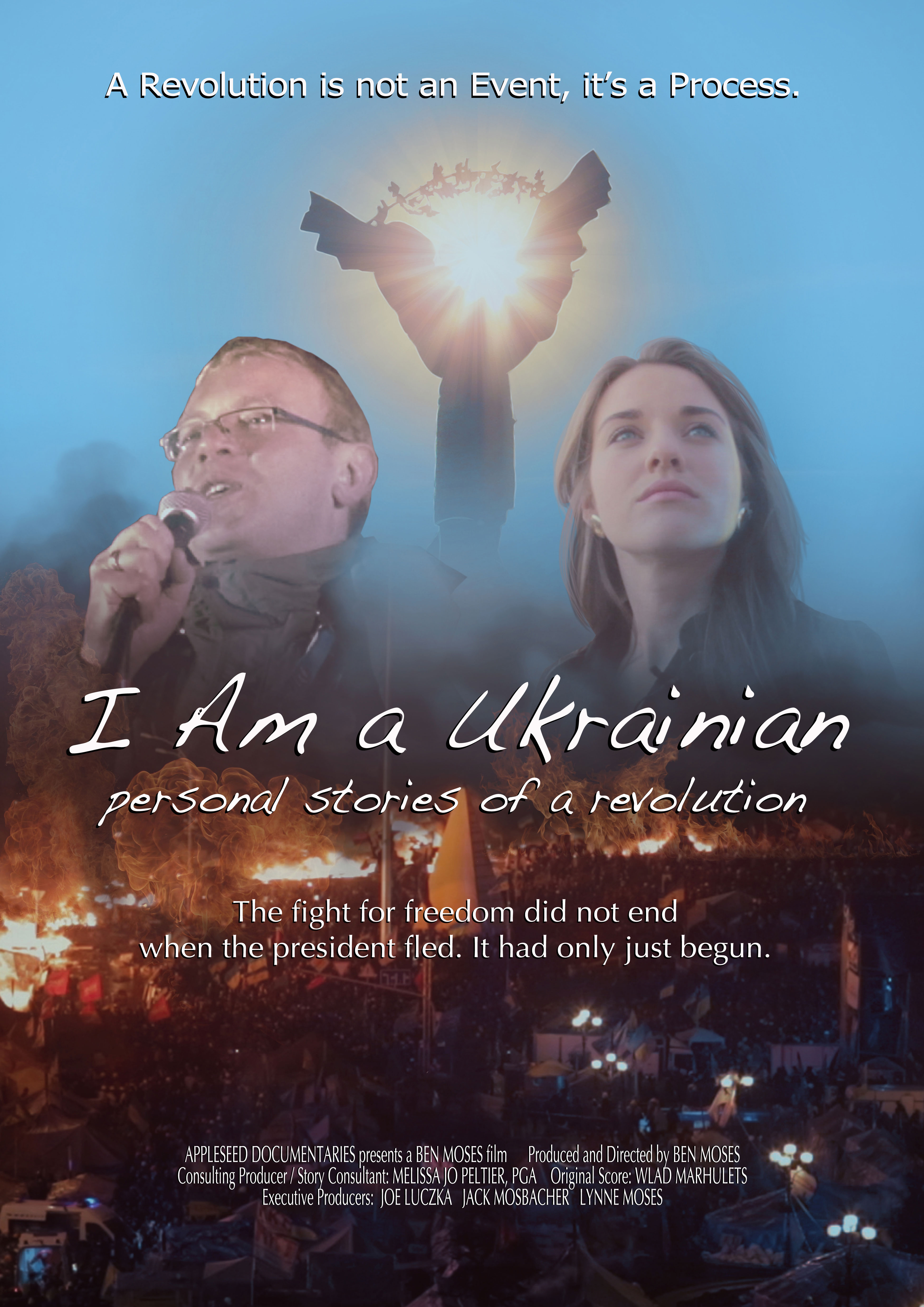 I Am a Ukrainian: Personal Stories of a Revolution