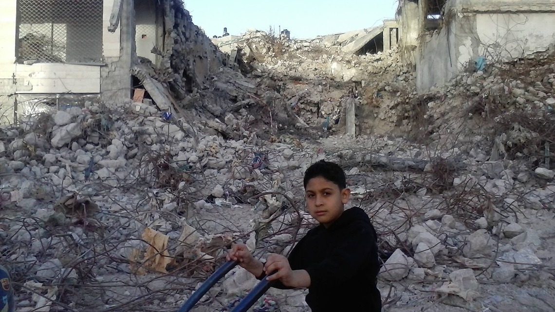 FROM UNDER THE RUBBLE – A Story from Gaza